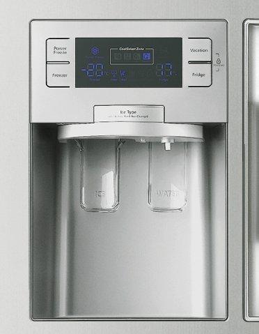 Peeneuts Samsungrshgnsp Réfrigérateur Samsung RSHGNSP - Frigo americain 1 porte distributeur de glacons